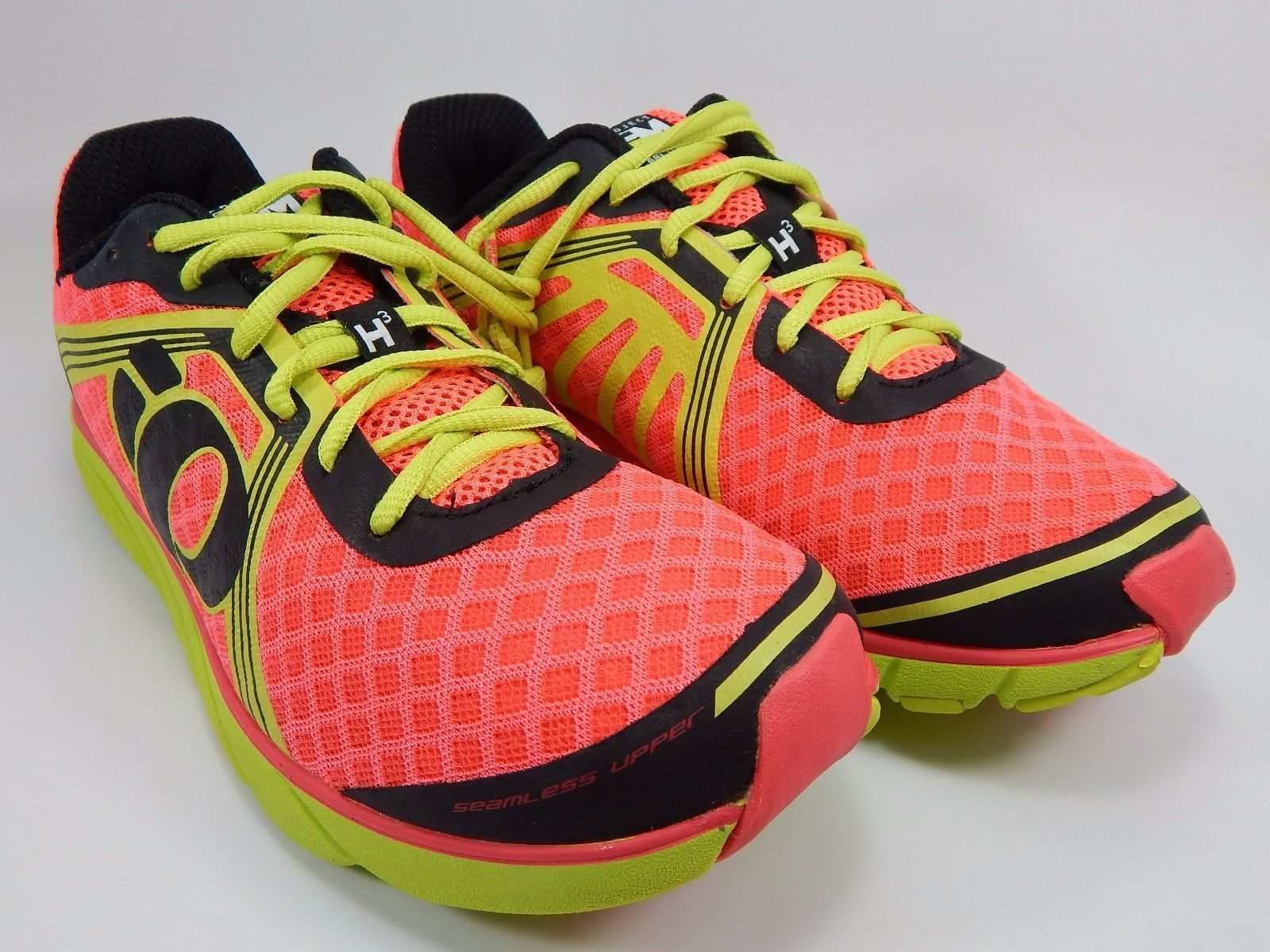 Pearl Izumi EM Road H 3 Women's Running Shoes Size US 8 M (B) EU 39 Pink Yellow