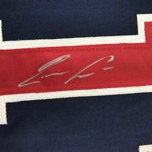 Autographed/Signed RONALD ACUNA JR. Atlanta Blue Baseball Jersey JSA COA Auto image 3