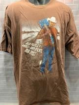 Brad Paisley Bonfires & Amplificatori Tour 2007 Concerto T-Shirt Taglia 2XL - $13.49