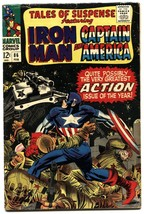 TALES OF SUSPENSE #86 1967-iron man-CAPTAIN AMERICA - $27.74
