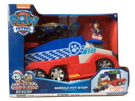 Paw Patrol, Ready Race, Rescue Mobile Pit Stop Team Vehicle - $36.09