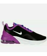 Nike Air Max Women's motion 2 black purple white rare running fashion wm... - $69.99