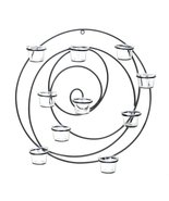 Hypnotic  Candle Wall Sconce - $43.14