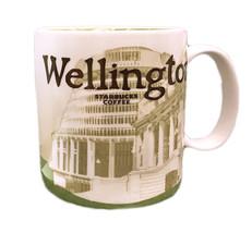 Starbucks Wellington New Zealand Icon mug 16 Oz 2016 Rare - $89.40