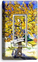 Vincent Van Gogh Mulberry Tree Painting 1 Gfci Switch Outlet Wallplate Art Cover - $8.99