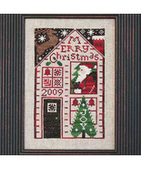 FULL KIT 2009 Santa Limited Edition cross stitch kit Prairie Schooler  - $27.50