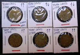 Lot of 6x Autobus Yvan Levis Transit Tokens ***Great Condition*** 1x Wea... - $11.34