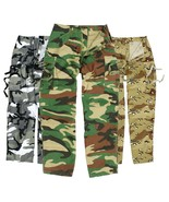 Brand New US M65 Style Army Cargo Vintage Combat Trousers Pants - $24.92