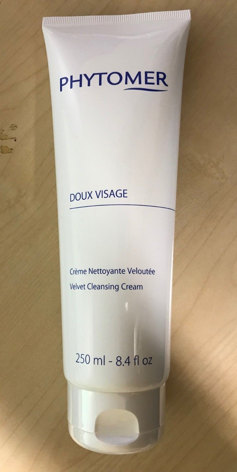 Primary image for Phytomer Doux Visage Velvet Cleansing Cream Salon Size 250ml  New