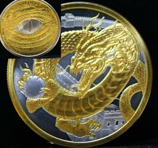 The Chinese World Of Dragons 24K Gold + collectors capsule 1 ounce OZ - $78.54