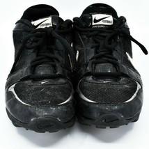 Nike Land Shark Legacy Boy's Youth Kids Black & White Football Cleats Size 6Y image 2