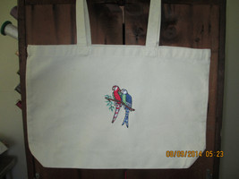 Tote Bag with Birds - $17.50