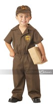 California Costumes UPS Driver Mail Child Toddler Halloween Costume 00043 - $24.91