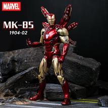 Apaffa 17cm Avengers Figma Iron Man Pepper Potts PVC Action Figure Toy Iron Man - $13.03+