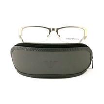 Emporio Armani EA1018 Eyeglasses 3045 Matte Silver 53 17 140 - $60.80