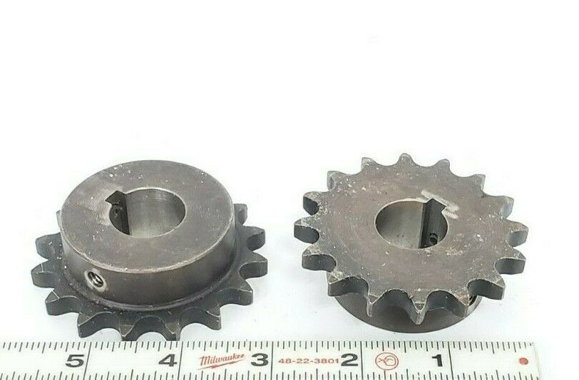 LOT OF 2 MARTIN 40B16 SPROCKETS 16 TEETH