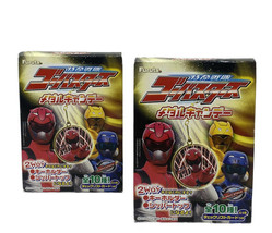 Set Of 2 Japanese POWER RANGER Furuta Fighters Surprise Mini Keychain Ne... - $9.85