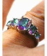 OCCULT witchcraft vessel coven owned Remove OBSTACALS ENERGY RING US 7 UK O - $65.81