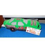 New Nascar Beanie Racers Races #18 Bobby Labonte Green Plush Stuffed - $4.91