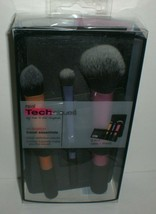 Real Techniques Travel Essentials Makeup Brush Set with 2-in-1 Case + Stand - $13.77