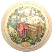 Wedgwood 1988 Childrens Wall Plaque Little Bo Peep Nursery Rhymes CP194 - $29.30