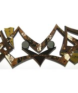Artful Ascension Aztek Abstract Mirrored Wood Wall Hanging, Wall Art, 42x12 - $227.69