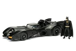 "Jada Toys Dc Comic 1989 Batmobile 2.75"" Batman Metals Diecast Vehicle Fi... - $38.84"