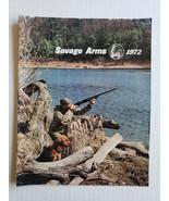 Vintage Savage Arms Rifles Shotguns Accessories 1972 Catalog With Bonus - $12.11