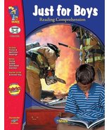 Just For Boys Reading Comprehension Grades 3-6 -- Case of 3 - $44.67
