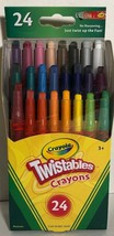 New Crayola Twistables Mini Crayons-24/Pkg, Crayola,Part 52-9724 - $6.69