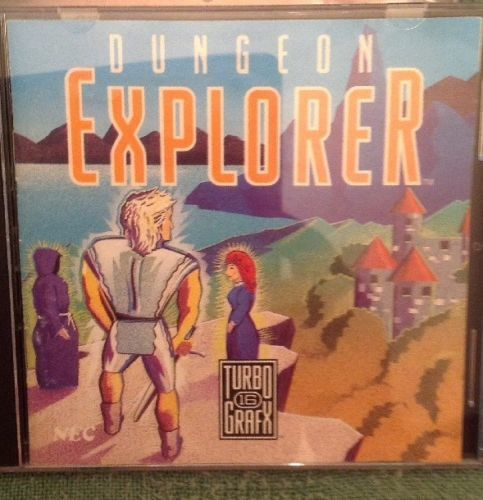 Turbo Grafx 16 Hu-Card Dungeon Explorer. 1989. Good.