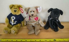 Lot of 3 TY Beanie Babies with Tags hk - $12.86