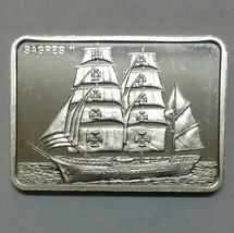 Sagres II Silver art ingot bar Colonial Mint Lot# N 507