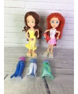 Disney Thinkway Gabrielle Ariel Interactive Talking Singing Dolls With C... - $22.76