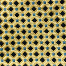 Tommy Hilfiger Men's Yellow 100% Silk Micro Checked Pattern Regular Tie - $2.96
