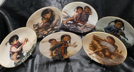Vintage Complete Set of Children of Aberdeen Collector Plates Series (1979-1984) - $216.00