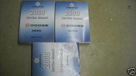 2008 DODGE DAKOTA TRUCK Service Repair Shop Workshop Manual Set OEM - $69.25