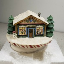 Our America Gift Debbie Mumm Candletoppers Collection Santa's Workshop #... - $13.71
