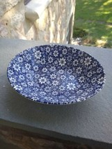 HTF oval Bowl Country Cupboard Blue JOHNSON BROTHERS  Ironstone - $49.99