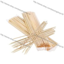 500pcs 35cm Bamboo Skewers for Lolly Waffle Stick/Candy Floss/Twist Potato - $860,15 MXN