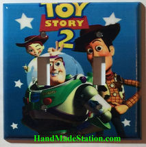 Toy Story Woody Jessie Buzz Lightyear Light Switch Outlet wall Cover Plate decor image 2