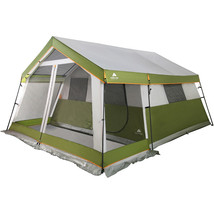 8-Person Family Cabin Tent w/ Screen Porch Outdoor Camping Instant Shelt... - $282.01