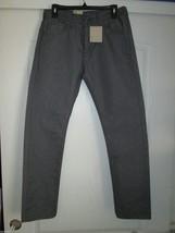 LEVI'S Regular Taper Fit Men's Jean Charcoal 29Wx30L MSRP $68.00  - $33.24