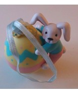 Vintage Avon Gift Collection Busy Bunny Easter Ornament Bunny Rabbit Wit... - $8.59