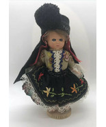 Nazare Portugal Dressed Pimar Souvenir Doll Traditional 7 Petticoat CLOS... - $19.75