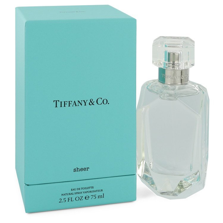 Tiffany Sheer Perfume 2.5 Oz Eau De Toilette Spray