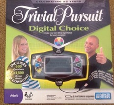 Trivial Pursuit Digital Choice - Parker Brothers, New in Box, Includes USB Cable - $7.43