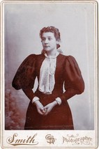 A.C. Vendexter Cabinet Photo of Young Woman - Dexter, Maine (1898) - $17.50