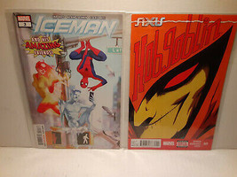 HOBGOBLIN #1 AXIS + ICE-MAN #3 SPIDER-MAN AND AMAZING FRIENDS - FREE SHI... - $14.03