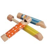 Wooden Push and Pull Fipple , Toy Musical Instruments, Kids Children Gif... - $16.90